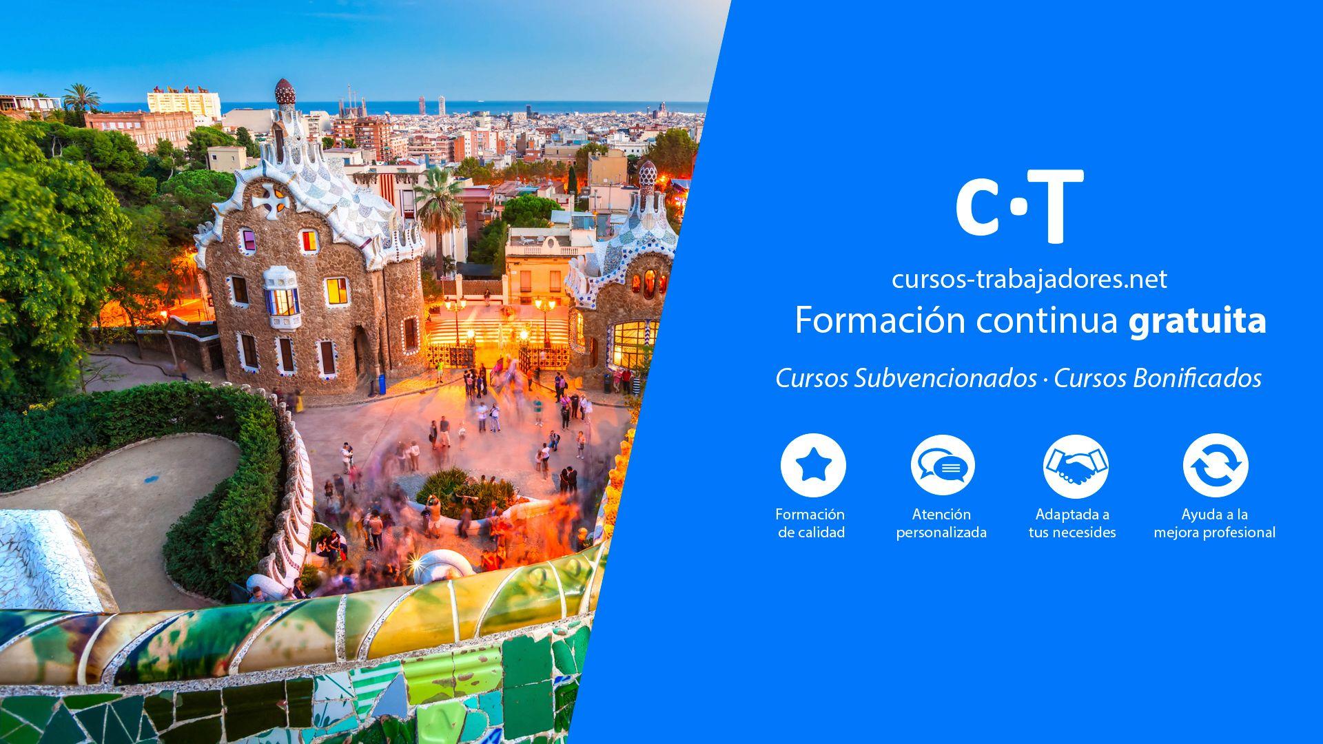Cursos Gratuitos Para Trabajadores Barcelona 2021